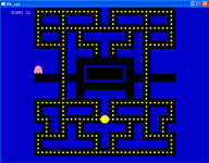An early pacman maze