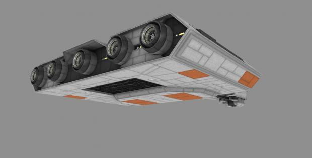 Quasar-class Light Carrier WIP