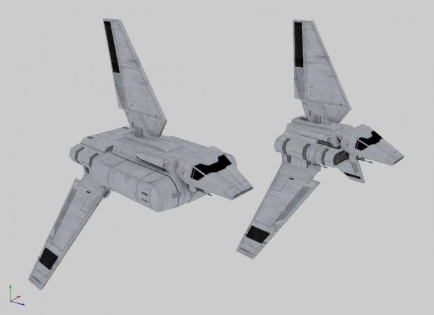 Imperial Shuttles WIP