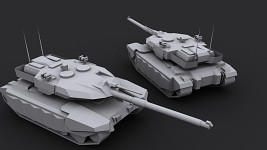 Leopard 3 Heavy Main Battle Tank