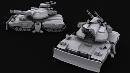 Type 390 'Trebuchet' Siege Tank