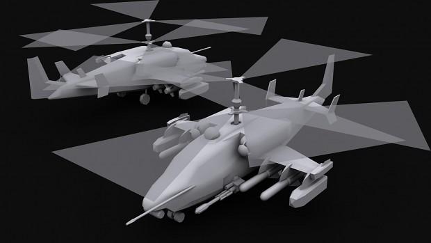 Kamov KA-52N Naval Warfare Chopper