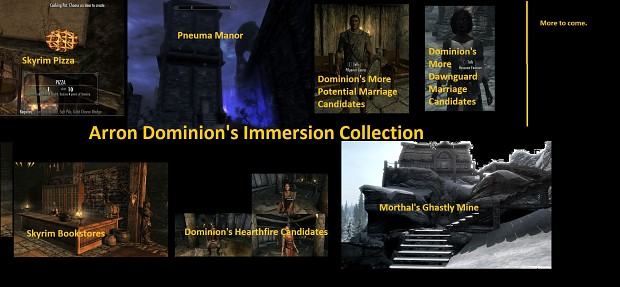 Dominions Immersion Collection