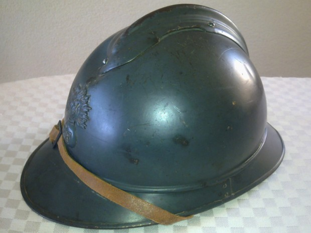 French 1915 Adrian helmet
