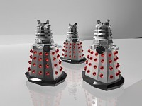 Doctor Who Dalek Army
