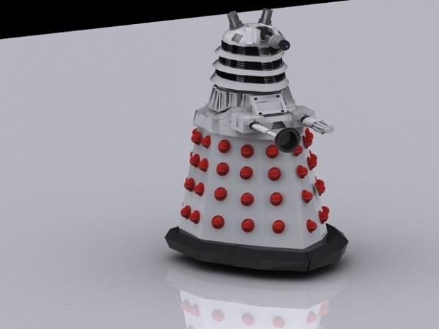 Dalek rendered in 3ds max
