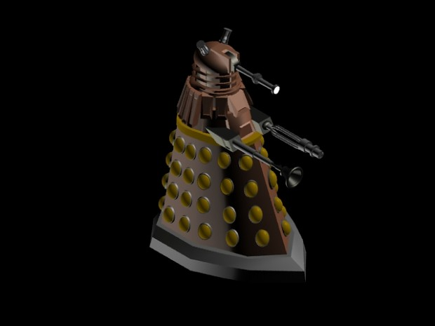 Dalek rendered in 3ds max