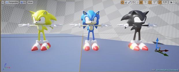 Sonic UE4 SuperForms