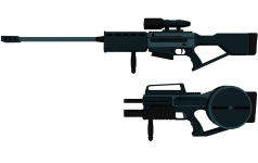 Deus Ex Assault Rifle and Sniper