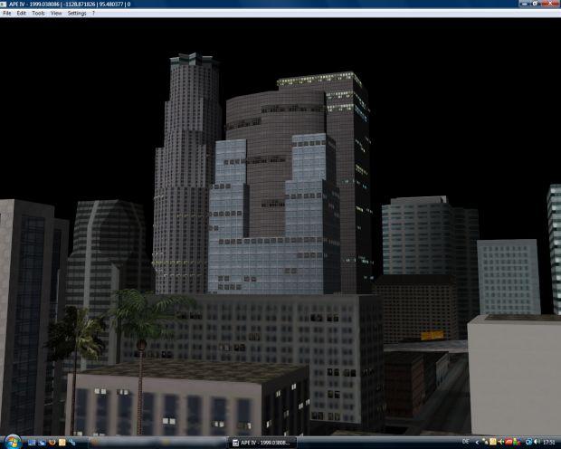 APE IV rendering core