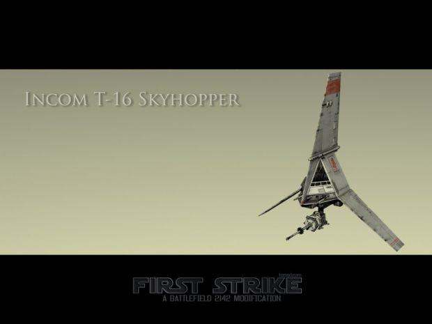 T-16 Skyhopper Wallpaper