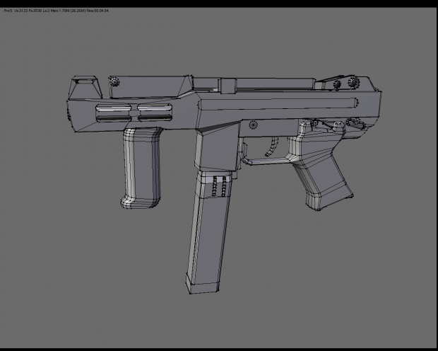 Wireframe of the Spectre M4