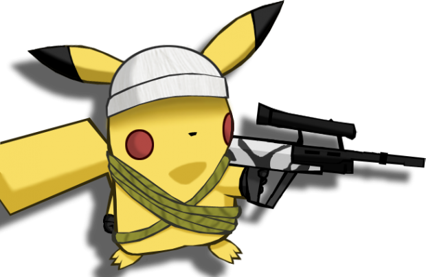 Pikachu Black and White Ops