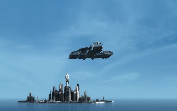 Screenshot from Stargate war begins mod intro