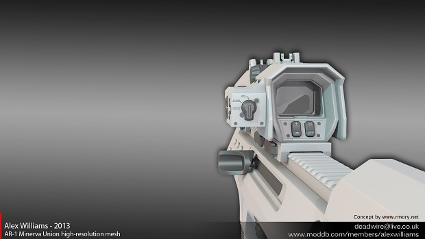 AR-1 Minerva Union high-resolution mesh