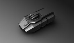 XF GDI Hover APC LowPoly