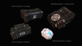 Ammo Cases and Medical Packs