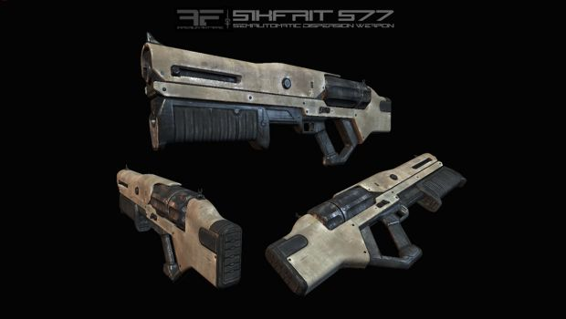 AIA Sikfrit S77 Semiautomatic Dispersion Weapon