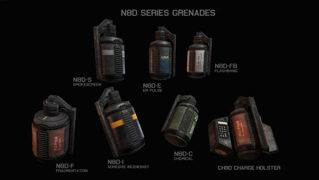 N8D Series Grenades