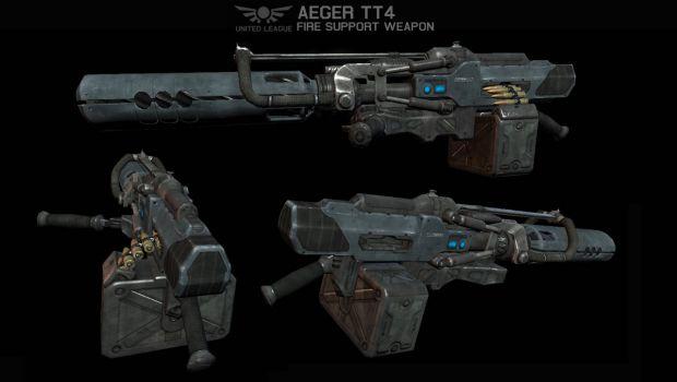 ULA Aeger TT4 Fire Support Weapon