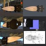 "Switchblade Concept Mesh ""Aegis"""