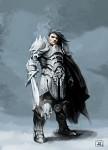 Swords man
