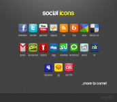Social Icons (ModDB included)