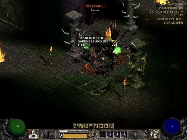 Diablo 2 Is A Dark Place Full Of.....
