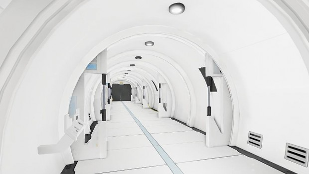 udk sci fi tunnel