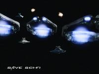Save Sci-fi Card Concept