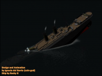 Titanic Sinking Animation