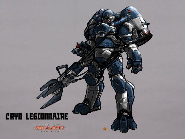 Red Alert 3 Cryo Legionnaire