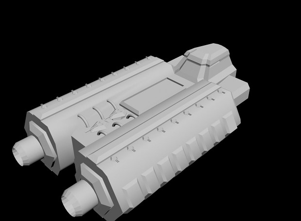 Confederate Alliance Dual Cannon Destroyer
