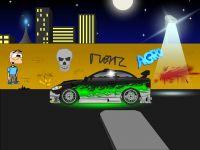 New car scene