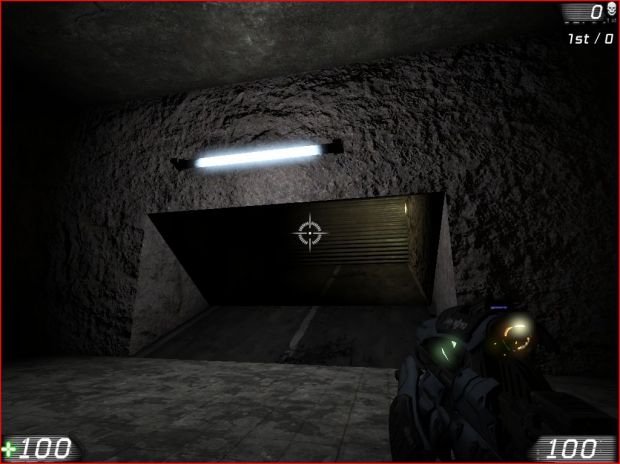 new screen of a level of the first CHAP
