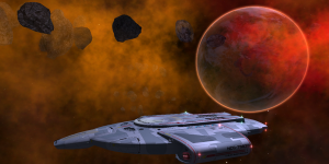 The USS Defiant in Ajilon