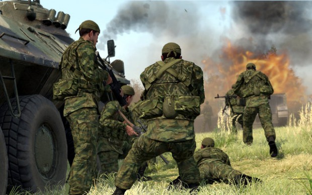 ARMA 2 screen from PCGAMESde