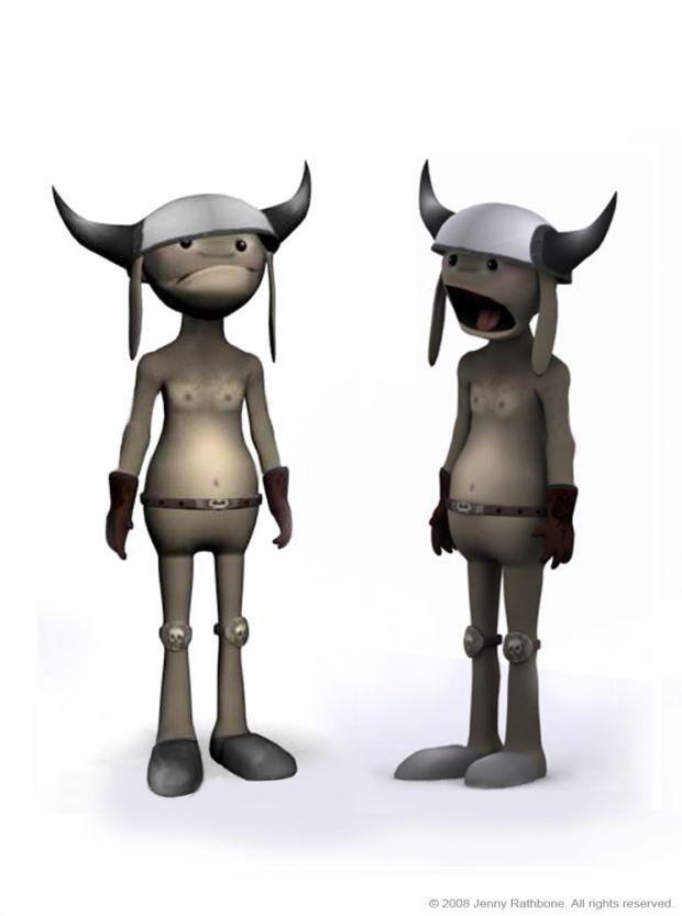 Mockleop  3D Character Design.