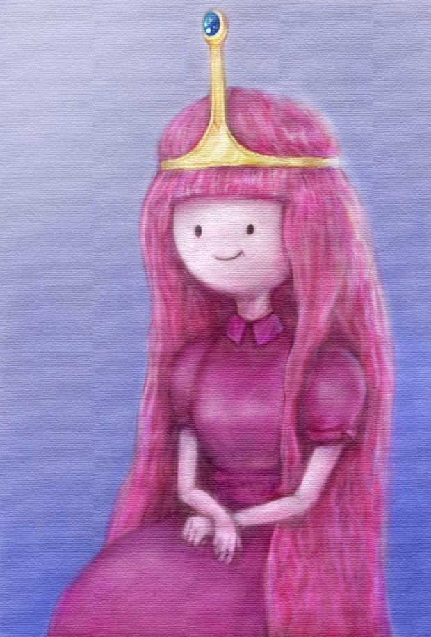 Princess Bubblegum Portrait
