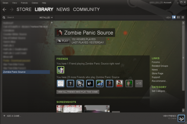 Im addicted to Zombie Panic! Source?