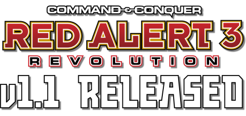 Red Alert 3: Revolution v1.1 Release