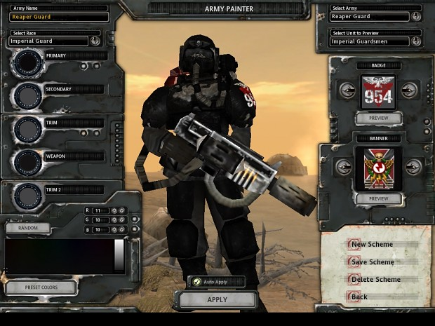 Dawn of War: Dark Crusade w/ ZMS mod
