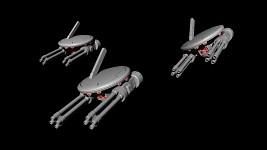 Tau Heavy Gun Drone (WIP)