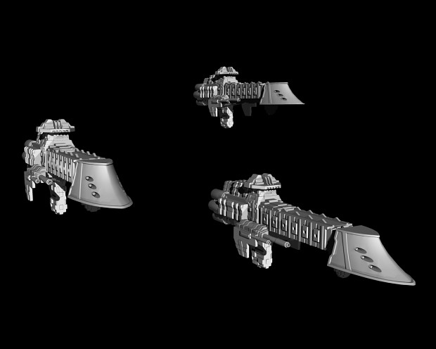 Warhammer40k Dauntless Cruiser - WIP