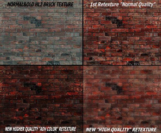 Half Life 2 Brick Walls