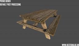 Picnic Bench 001