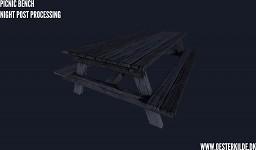Picnic Bench 002