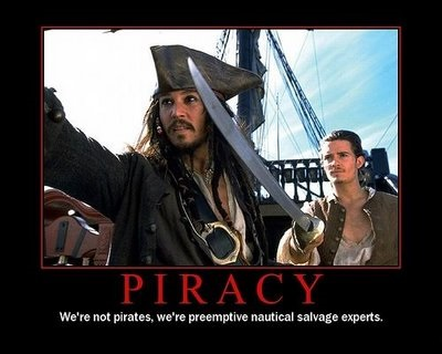 We're Not Pirates!