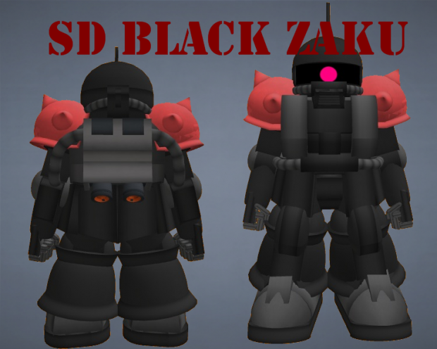 SD Black Zaku