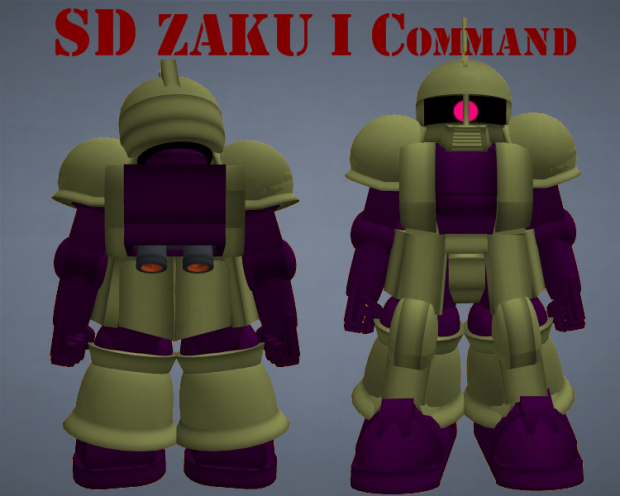 SD Zaku I Command